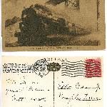 Postcard From Uncle Fred to Eddie Jr 1927